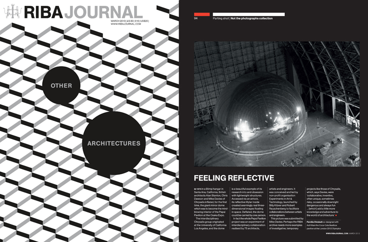 RIBA Journal, March 2013