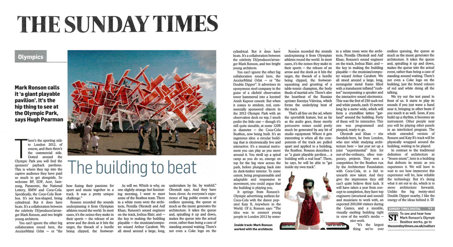 The Sunday Times, 20 May 2012